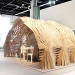Expandable Surface Pavilion - Exterior