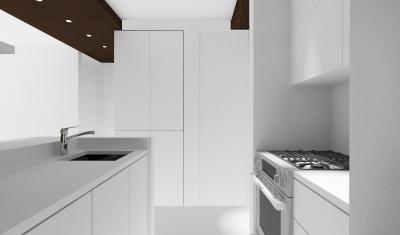Apartment S - Interior Kitchen